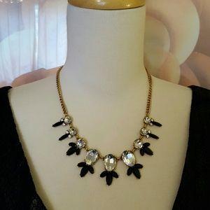 NWOT J. Crew crystal statement necklace