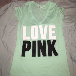 PINK shirt, only worn once.