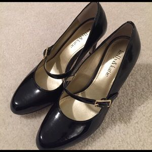 Kelly & Katie Shoes - New low price! Black Patent Mary-Jane Pumps