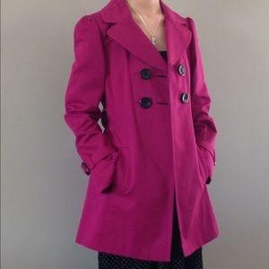 Pink Ann Taylor Coat