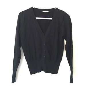 Sweet Romeo Sweaters - Black Cardigan