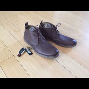 """GBX Other - GBX men's leather """"Percy"""" chukka boots sz 11.5"""
