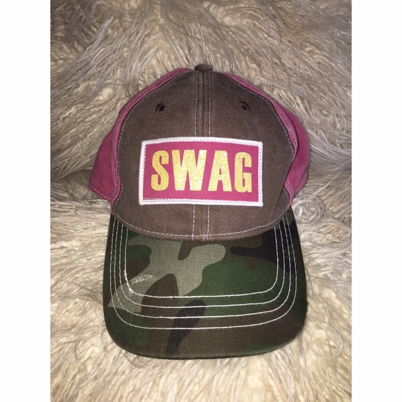Other - SWAG Camouflage Hat