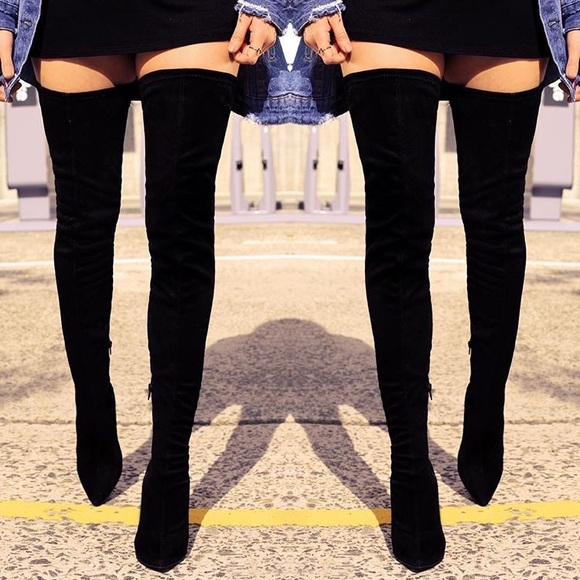 9d2175be98f Lola Shoetique  Groundbreaking  Thigh High Boots