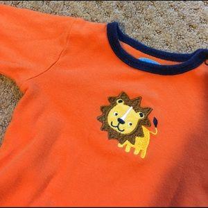 Bon Bebe Other - Orange LION onesie w/ blue trim in great condition