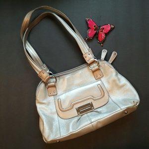 Tignanello Handbags - Tiganello - silver purse