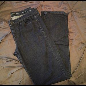 Calvin Klein Jeans Denim - Calvin Klein Straight Leg Stretch Jeans