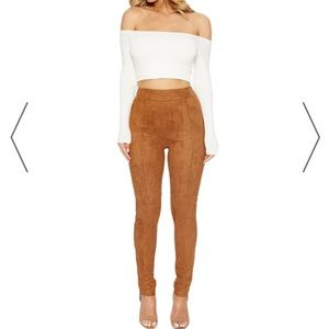 ❌Sold❌Suede Camel Color Pants