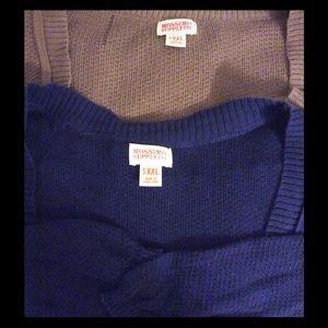 2 Lightweight Shugs/Vest