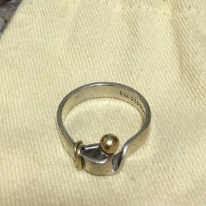 Tiffany & Co. Jewelry - Vintage Tiffany & co. Hook ring & eye w. 18k gold