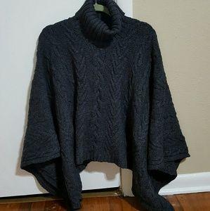 Willi Smith Sweaters - Will Smith brand gray poncho
