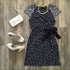 Just Taylor Side Tie Dress