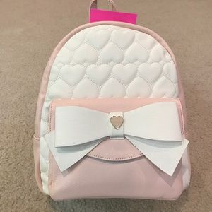 Betsey Johnson Handbags - Only Today! Gorgeous Betsey Johnson bow backpack