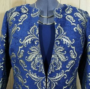 Susan Graver Jackets & Blazers - Susan Graver Special Edition Tapestry Jacket NWOT