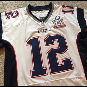 tom brady super bowl jersey xxl