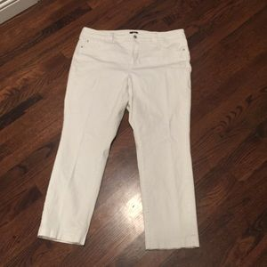Plus-size NYDJ White Jeans
