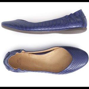 Peter Millar Shoes - Peter Millar faux Anaconda Ballet Flat