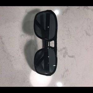 Burberry men's black sunglasses