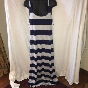 Ambiance Apparel Dresses & Skirts - Striped maxi