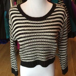 Topshop PETITE Sweaters - TopShop 2 Petite striped sweater. top shop bin 2