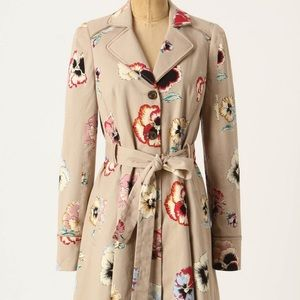 Pansy trench coat