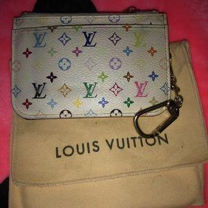 Louis Vuitton Multicolor cles large with dust bag