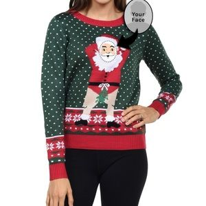 Awesome interactive ugly sweater!
