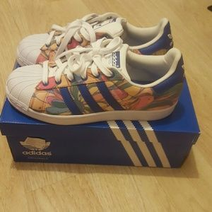 Adidas Shoes - Superstar Adidas sneakers size 6 women's
