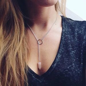 Free People Accessories - Stone necklace