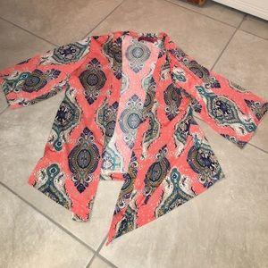 Boohoo Tops - Printed Kimono
