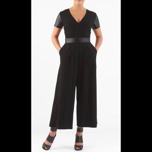 eshakti Pants - New Eshakti Black Jumpsuit XL 16 Long