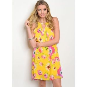 Nordstrom Dresses & Skirts - *SALE* New yellow floral dress