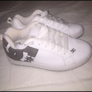 DC Other - DC Men's Skater Shoes, White, Size 8