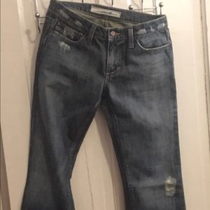 Joe's Jeans ENO distressed boot cut.