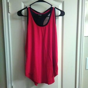Danskin Now Tops - NWT Danskin Now Racerback red top SZ SMALL