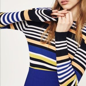 Zara multicolored striped sweater