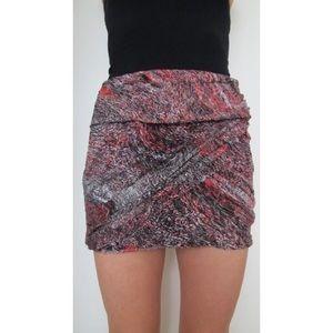 IRO / Mesh Mini Skirt