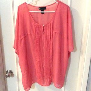 Lane Bryant Tops - 🌺HOST PICK🌺 Lane Bryant beautiful pink top