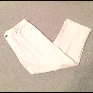 KORS Michael Kors Pants - Michael Michael Kors white Capris Pants