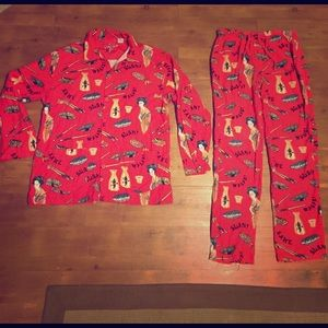 PJ Salvage Other - P.J. Salvage 100% cotton old school sushi PJs 👘🍣