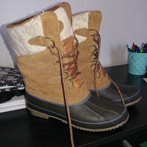 Khombu Shoes - Like new winter boots