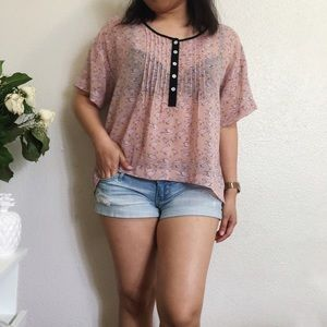 Forever 21 Tops - Loose Blouse Swan