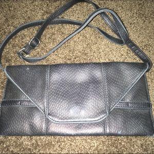 Cooperative Handbags - Cooperative Black leather side purse