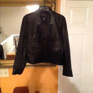 Real leather SZ M Jacket
