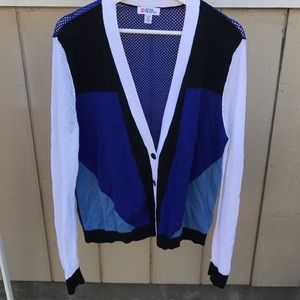 Peter Pilotto Sweaters - PETER PILOTTO TARGET XL CARDIGAN SWEATER LIKE NEW