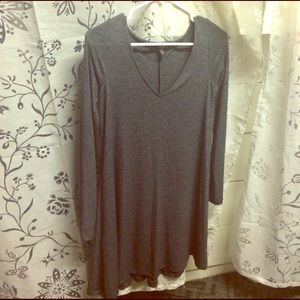 Gray Express Knit dress