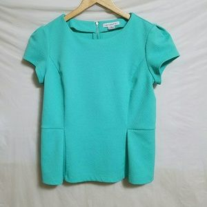 Liz Claiborne Tops - Mint peplum top