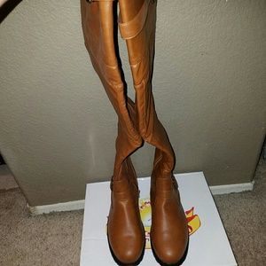 West Blvd  Shoes - Knee High Boots