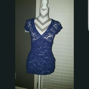 Small Vanity Lace Blouse