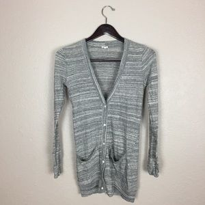 J. Crew Other - J.Crew size extra small gray cardigan